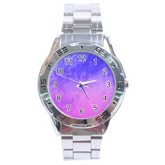 Ombre Purple Pink Stainless Steel Analogue Watch