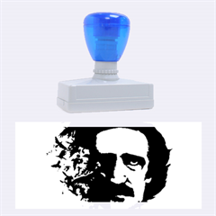 Edgar Allan Poe Crows Rubber Stamps (Large)