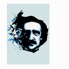 Edgar Allan Poe Crows Large Garden Flag (Two Sides)
