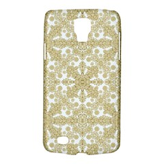 Golden Floral Boho Chic Galaxy S4 Active