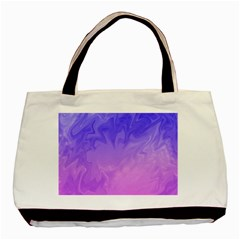 Ombre Purple Pink Basic Tote Bag