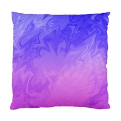 Ombre Purple Pink Standard Cushion Case (One Side)