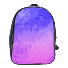 Ombre Purple Pink School Bags(Large)