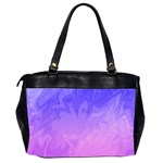 Ombre Purple Pink Office Handbags (2 Sides)  Back