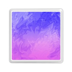 Ombre Purple Pink Memory Card Reader (Square)