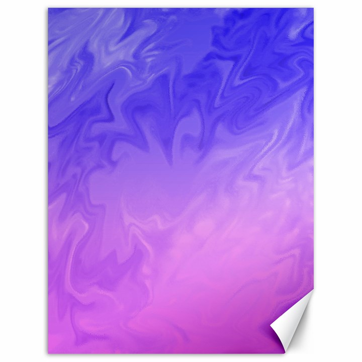 Ombre Purple Pink Canvas 18  x 24