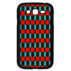 Black red rectangles pattern                                                          Samsung Galaxy Grand DUOS I9082 Case (Black)