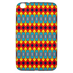 Rhombus and other shapes pattern                                                            			Samsung Galaxy Tab 3 (8 ) T3100 Hardshell Case