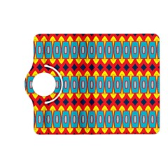 Rhombus and other shapes pattern                                                            Kindle Fire HD (2013) Flip 360 Case