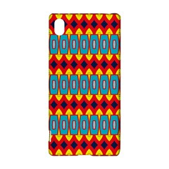 Rhombus and other shapes pattern                                                            Sony Xperia Z3+ Hardshell Case