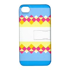 Rhombus And Stripes                                                             apple Iphone 4/4s Hardshell Case With Stand