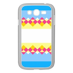 Rhombus And Stripes                                                             samsung Galaxy Grand Duos I9082 Case (white)