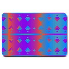 Triangles gradient                                                             Large Doormat