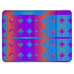Triangles gradient                                                             			Samsung Galaxy Tab 7  P1000 Flip Case