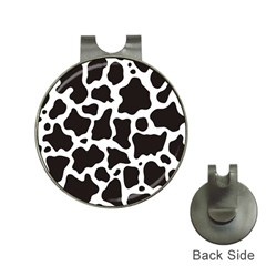 Cow Pattern Hat Clips with Golf Markers