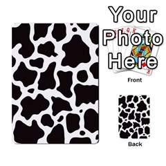 Cow Pattern Multi-purpose Cards (Rectangle)