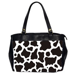 Cow Pattern Office Handbags (2 Sides)