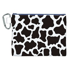 Cow Pattern Canvas Cosmetic Bag (XXL)