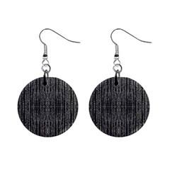 Dark Grunge Texture Mini Button Earrings