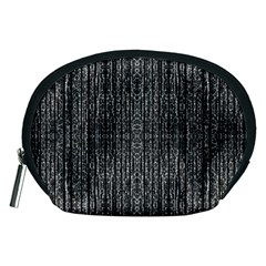 Dark Grunge Texture Accessory Pouches (Medium)