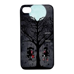 Love Tree Apple Iphone 4/4s Hardshell Case With Stand