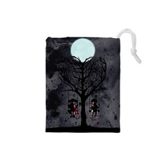 Love Tree Drawstring Pouches (Small)