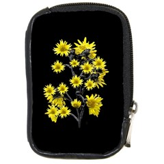 Sunflowers Over Black Compact Camera Cases