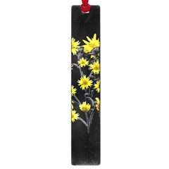 Sunflowers Over Black Large Book Marks