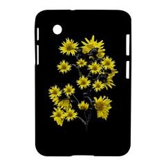Sunflowers Over Black Samsung Galaxy Tab 2 (7 ) P3100 Hardshell Case