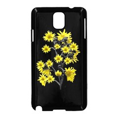 Sunflowers Over Black Samsung Galaxy Note 3 Neo Hardshell Case (Black)