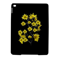 Sunflowers Over Black iPad Air 2 Hardshell Cases