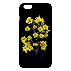 Sunflowers Over Black iPhone 6 Plus/6S Plus TPU Case
