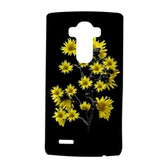 Sunflowers Over Black LG G4 Hardshell Case