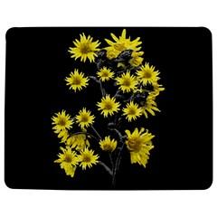 Sunflowers Over Black Jigsaw Puzzle Photo Stand (rectangular)