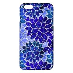 Azurite Blue Flowers iPhone 6 Plus/6S Plus TPU Case