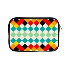 Rhombus Pattern                                                              			apple Ipad Mini Zipper Case