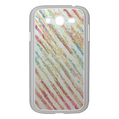 Diagonal stripes painting                                                               			Samsung Galaxy Grand DUOS I9082 Case (White)