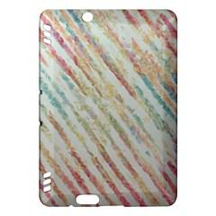 Diagonal stripes painting                                                               Kindle Fire HDX Hardshell Case