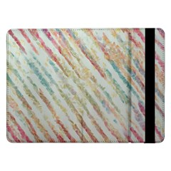 Diagonal stripes painting                                                               			Samsung Galaxy Tab Pro 12.2  Flip Case