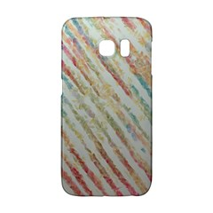 Diagonal stripes painting                                                               			Samsung Galaxy S6 Edge Hardshell Case