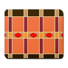 Shapes and stripes                                                                 			Large Mousepad