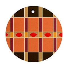 Shapes and stripes                                                                 Ornament (Round)