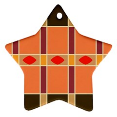 Shapes and stripes                                                                 			Ornament (Star)