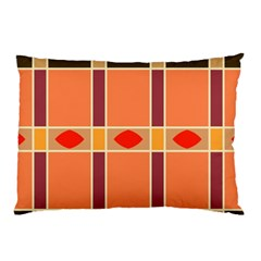 Shapes and stripes                                                                 			Pillow Case