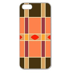 Shapes and stripes                                                                 Apple Seamless iPhone 5 Case (Clear)