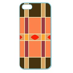 Shapes and stripes                                                                 Apple Seamless iPhone 5 Case (Color)