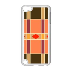 Shapes and stripes                                                                 			Apple iPod Touch 5 Case (White)