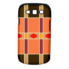 Shapes and stripes                                                                 			Samsung Galaxy S III Classic Hardshell Case (PC+Silicone)