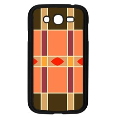 Shapes and stripes                                                                 			Samsung Galaxy Grand DUOS I9082 Case (Black)