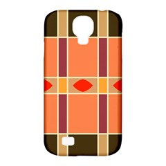 Shapes and stripes                                                                 Samsung Galaxy S4 Classic Hardshell Case (PC+Silicone)
